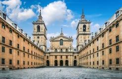 EL royal Escorial de monastère près de Madrid, Espagne photos libres de droits