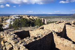 El Ruins in Morro National Monument Royalty Free Stock Photography