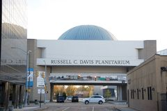 El Russell C Davis Planetarium, Jackson, Mississippi fotos de archivo