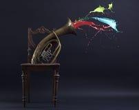 El símbolo de la creatividad y de la inspiración. Fotos de archivo