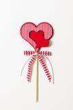 El símbolo de la tarjeta del día de San Valentín Imágenes de archivo libres de regalías