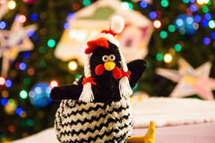 El símbolo de los nuevos 2017 años de pollo Foto de archivo