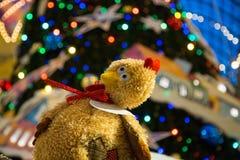 El símbolo de los nuevos 2017 años de pollo Foto de archivo libre de regalías