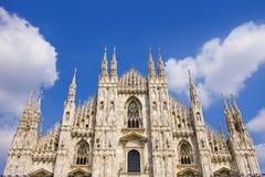 El símbolo de Milano Foto de archivo libre de regalías