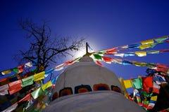El símbolo de Xizang en la montaña Fotos de archivo libres de regalías