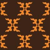 El símbolo decorativo del arte del diseño del mural marroquí ilustración del vector