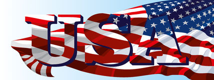 El símbolo nacional de los E.E.U.U. Fotografía de archivo