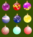El ` s del Año Nuevo de а Ð?Д ку del ½ de рушки Ð del ³ de РиРdel ¾ del ³ Ð del ¹ Ð del ‹Ð del ² Ñ del ¾ Ð del  Ð de stock de ilustración