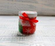 El ` s del Año Nuevo mira al trasluz hecho a mano adornado Fotos de archivo libres de regalías