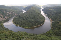 El Saarschleife Imagen de archivo