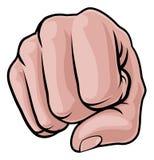 El sacador del puño Knuckles la mano Fotos de archivo libres de regalías
