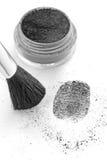 El sacar el polvo para las huellas digitales Imagen de archivo libre de regalías