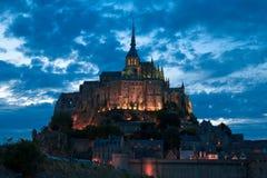 El Saint Michel de Mont Imagen de archivo libre de regalías