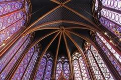 El Sainte-Chapelle, París fotografía de archivo