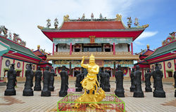 El sala de Tailandia pattaya viharasien el templo Imagenes de archivo