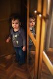 El salir del armario Imagen de archivo libre de regalías