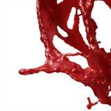 El salpicar de la sangre Imágenes de archivo libres de regalías
