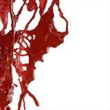 El salpicar de la sangre Fotografía de archivo
