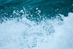 El salpicar del agua Foto de archivo