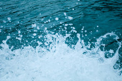 El salpicar del agua Fotos de archivo libres de regalías