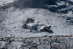 El salpicar del fango Fotografía de archivo