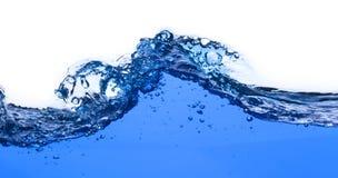 El salpicar fuerte del agua Imagen de archivo libre de regalías