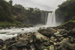El Salto de Eyipantla fotografía de archivo