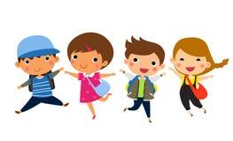 El salto de los estudiantes libre illustration