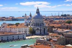 El saludo del della de Santa María de la basílica en Venecia Fotos de archivo libres de regalías