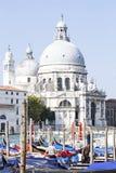 El saludo del della de Santa Mar?a de la bas?lica en Venecia fotografía de archivo libre de regalías