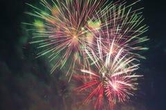 El saludo festivo en honor del día de la victoria encendido puede 9 Imágenes de archivo libres de regalías