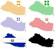 El Salvador ilustração royalty free