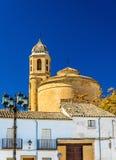 EL Salvador Chapel a Ubeda, un sito di eredità dell'Unesco in Spagna immagine stock