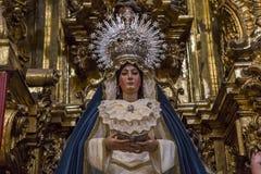 El Salvador church, Seville, Andalusia, spain Stock Photography