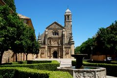 El Salvador Church, Ubeda, Spain. Stock Photo