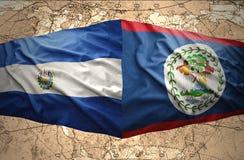 El Salvador e Belize Fotografie Stock