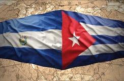 El Salvador e Cuba royalty illustrazione gratis