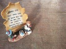El salvador es natividad nacida Imágenes de archivo libres de regalías