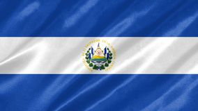 EL Salvador Flag libre illustration