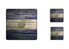 El-salvador Flag Buttons Stock Images