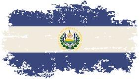 El Salvador grunge flag. Vector illustration. Royalty Free Stock Images
