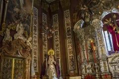 El Salvador kyrktar, Seville, Andalusia, Spanien Arkivfoton