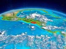 El Salvador på jord Arkivfoto