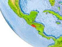 El Salvador på jordklotet Arkivbilder