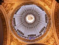EL Salvador Seville Andalusia Spain d'église de dôme de basilique Photographie stock libre de droits