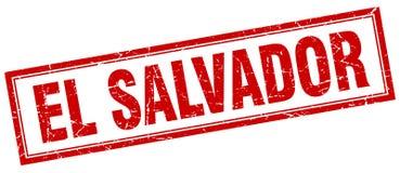 El Salvador stamp. El Salvador square grunge stamp. El Salvador sign. El Salvador vector illustration
