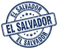 El Salvador stamp. El Salvador round grunge stamp isolated on white background. El Salvador stock illustration