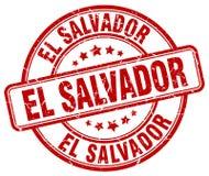 El Salvador stamp. El Salvador round grunge stamp isolated on white background. El Salvador royalty free illustration