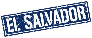El Salvador stamp. El Salvador square grunge sign isolated on white. El Salvador vector illustration