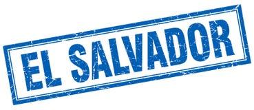 El Salvador stamp. El Salvador square grunge stamp. El Salvador sign. El Salvador royalty free illustration
